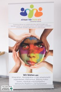 Banner vom AfricanTide Union e.V.