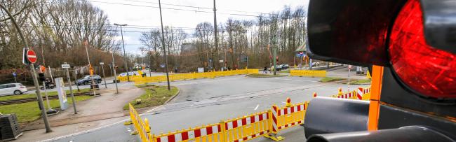 """Wegen Bombensondierungsbohrungen: Einschränkungen im Bus- und Individualverkehr rund um """"Schulte Rödding"""""""