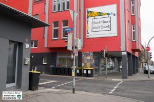 Gast-Haus in Dortmund an der Rheinischen Straße.