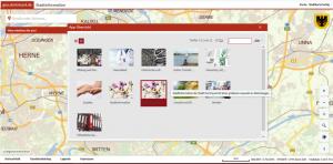 Stadtinformationen mit Übersicht aller Apps
