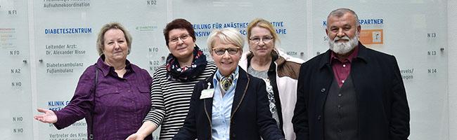 Klinikum Dortmund bietet Orientierungshilfe für PatientInnen – jetzt auch am Standort Nord in der Immermannstraße