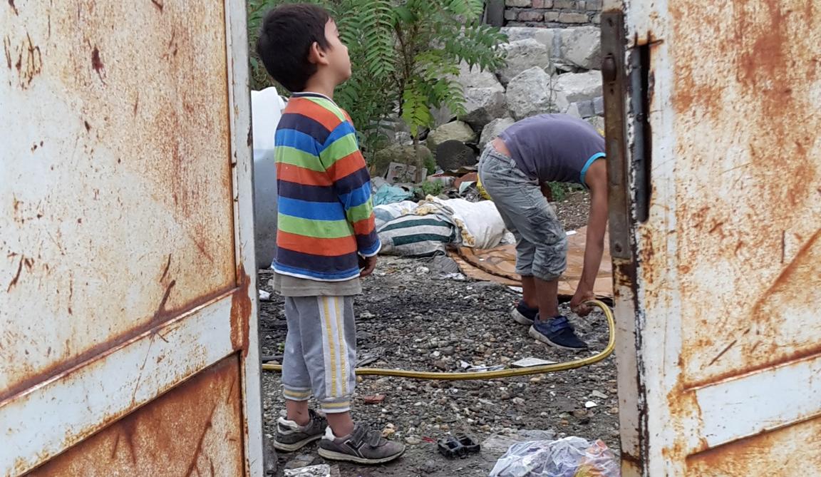 Einblick in ein Roma-Slum in Novi Sad (Serbien) - an vielen Orten wird Hilfe gebraucht. Foto: Beate Brauckhoff