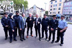 Intensiver Erfahrungsaustausch zwischen Stadt, Polizei und Staatsanwaltschaft stand im Mittelpunkt.
